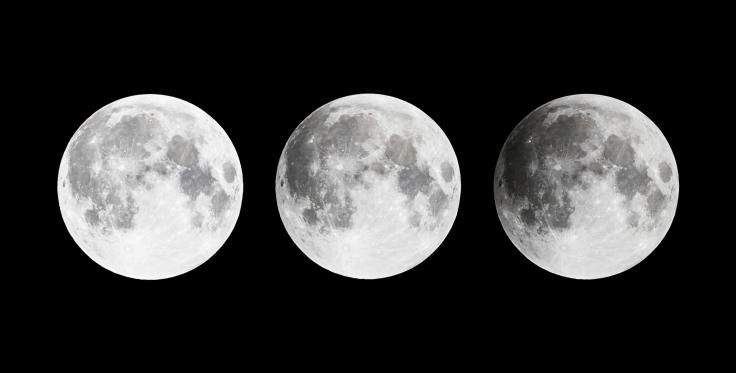 Eclipse Lune pénombre